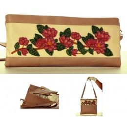 """Сумка-клатч """"Ветка магнолии"""" - Butterfly - набор для вышивки бисером"""