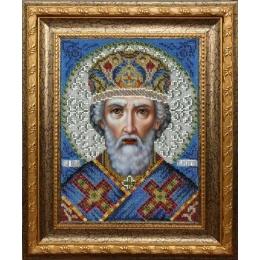 Икона Святого Николая Чудотворца - ТМ Вышиваем бисером - вышивка бисером икон
