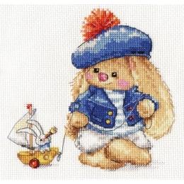 Зайка Ми. Моряк - Алиса - набор для вышивки крестом