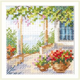 Цветочная веранда - Алиса - набор для вышивки крестом