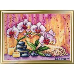 Магическая орхидея - ЛанСвіт- набор вышивки крестом