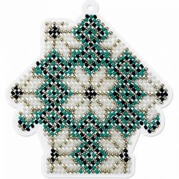 Набор для вышивания бисером на пластиковой основе FLPL-014 / Волшебная страна
