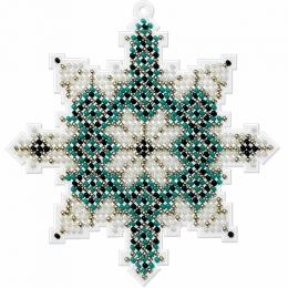 Набор для вышивания бисером на пластиковой основе FLPL-016 / Волшебная страна