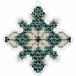 Набор для вышивания бисером на пластиковой основе FLPL-017 / Волшебная страна