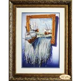 Море в картине - Тэла Артис - набор вышивки бисером