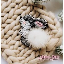 Зайка (украшение) - Абрис Арт - набор для вышивки бисером