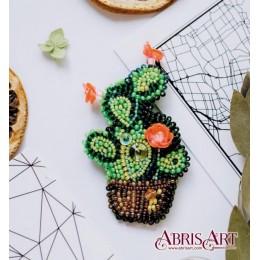 Набор для вышивки бисером - Абрис Арт - AD-032 Кактус (украшение)