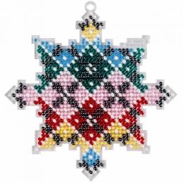Набор для вышивания бисером на пластиковой основе FLPL-034 / Волшебная страна