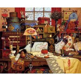 Набор для вышивки крестом - Dimensions - 03884 Мегги Рукодельница