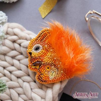 Пушистая (украшение) - Абрис Арт - набор для вышивки бисером