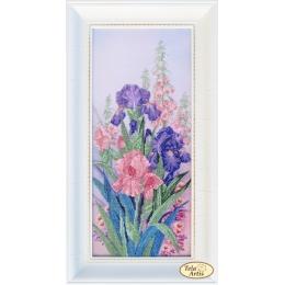 Милые сердцу цветы - Тэла Артис - набор вышивки бисером