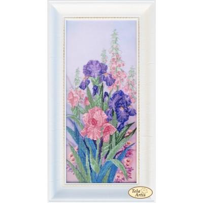 Набор для вышивки бисером - Тэла Артис - Милые сердцу цветы