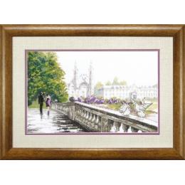 Мост влюбленных - Crystal Art - набор для вышивки крестом