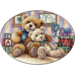 Набор для вышивки крестом - Dimensions - 06955 Мягкий и Пушистый