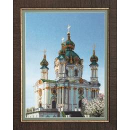 Набор для вышивки крестом - Чарівна Мить - РК-072 Андреевская церковь
