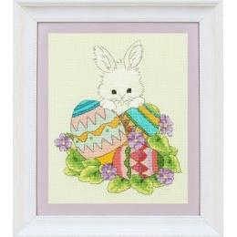 Набор для вышивки крестом - OLanTA - VN-073 Пасхальный заяц