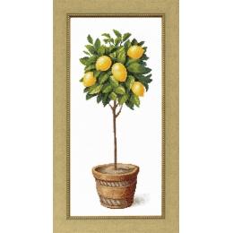Набор для вышивки крестом - Crystal Art - Лимонное дерево