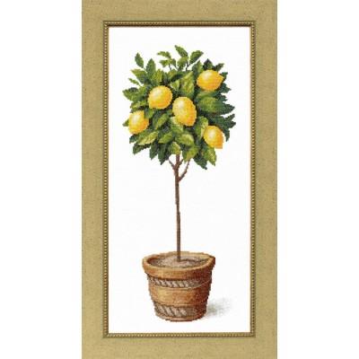 Лимонное дерево - Crystal Art - набор для вышивки крестом