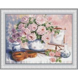 Натюрморт со скрипкой - OLanTA - набор вышивки крестом
