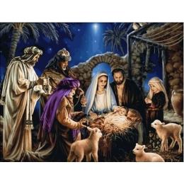 Рождение Иисуса - Dantel - набор для вышивки крестом