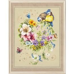 Набор для вышивки крестом - Чудесная игла - 100-142 Мелодия сердца