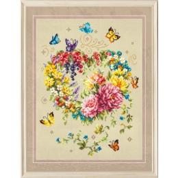 Набор для вышивки крестом - Чудесная игла - 100-143 Нежность сердца