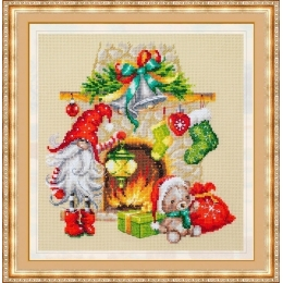 В ожидании Рождества - Чудесная игла - набор для вышивки крестом
