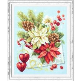 Набор для вышивки крестом - Чудесная игла - С Рождеством!