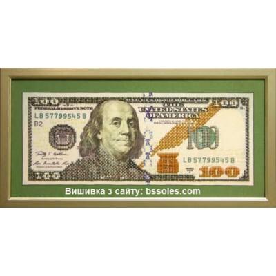 Набор для вышивки бисером - БС Солес - 100 долларов