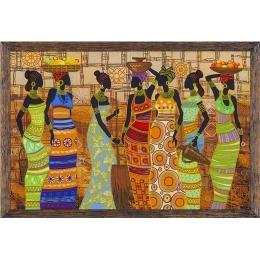 Набор для вышивки бисером - Нова Слобода - ДК1038 Африканские красавицы