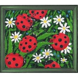 Солнышки - Butterfly - набор для вышивки бисером