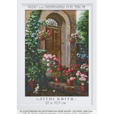 Летние цветы - Dantel - набор для вышивки крестом