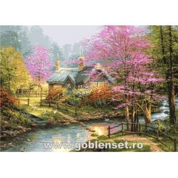 Вышивка гобеленовым швом - Goblen Set - G1089 Весенний рай