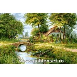 Голландское лето - Goblen Set - вышивка гобеленовым швом