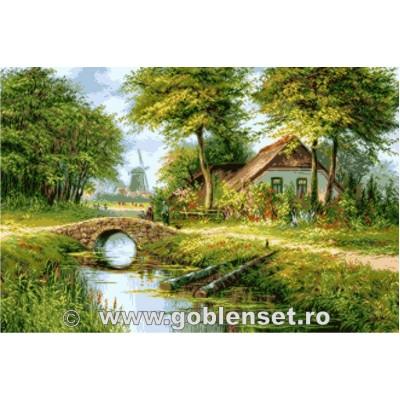 Вышивка гобеленовым швом - Goblen Set - G1096 Голландское лето