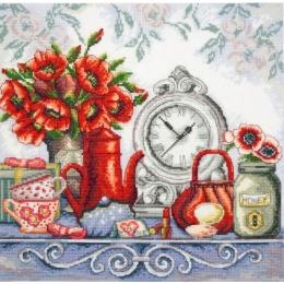 Набор для вышивки крестом - Марья Искусница - 11.004.14 Маковый шик