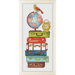 Счастливого путешествия! - OLanTA - набор вышивки крестом