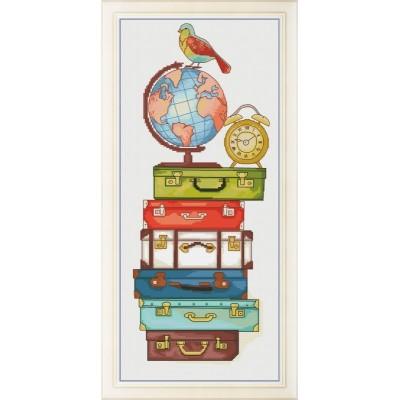 Набор для вышивки крестом - OLanTA - Счастливого путешествия!