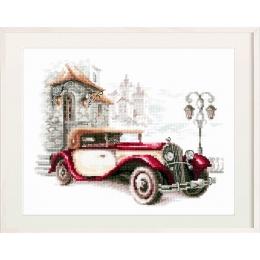 Набор для вышивки крестом - Чудесная игла - 110-022 Ретро-автомобиль. Кадиллак
