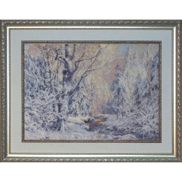 «Зимняя сказка» М.Сатаров - Краса і Творчість - набор вышивки крестом