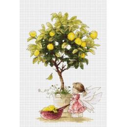 Набор для вышивки крестом - Luca-S - B1111 Лимоны