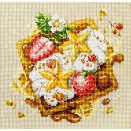 Венские вафли - Чудесная игла - набор вышивки крестом