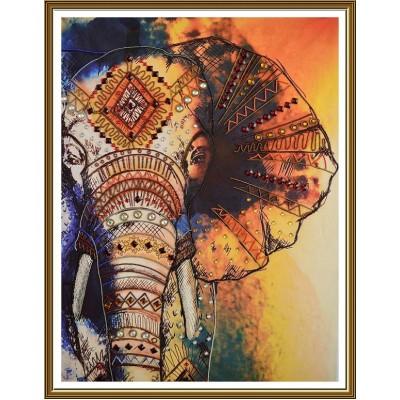 Набор вышивки бисером - Нова Слобода - Слон