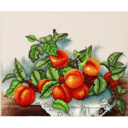 Веточка абрикос - Алисена - набор вышивки крестом