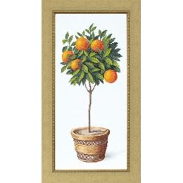 Апельсиновое дерево - Crystal Art - набор для вышивки крестом