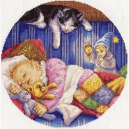 Дрема - хранитель детских снов - PANNA - набор для вышивки крестом