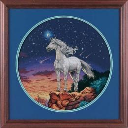 Мистический единорог (Unicorn Mystique) - Dimensions - набор для вышивки крестом