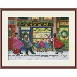 Подарки к Рождеству - OLanTA - набор вышивки крестом