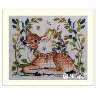 Набор для вышивки крестом - ТМ Мережка - К-145 Олененок