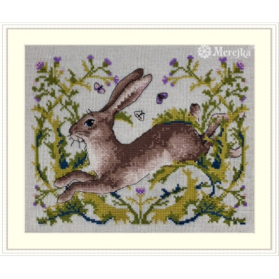 Заяц - ТМ Мережка - набор вышивки крестом